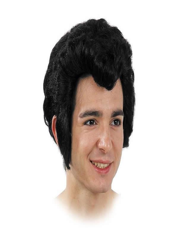 peluca de cantante elvis