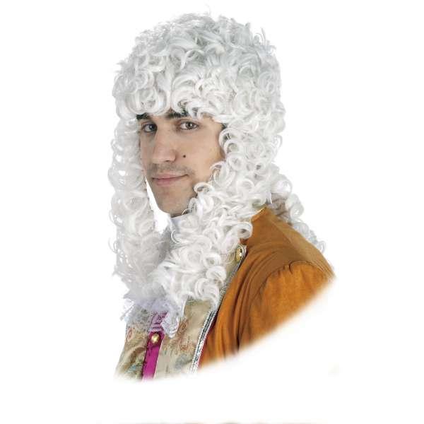 peluca epoca o juez blanca