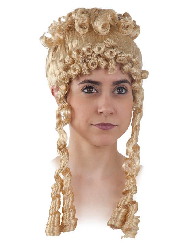 peluca romana adulto varios colores