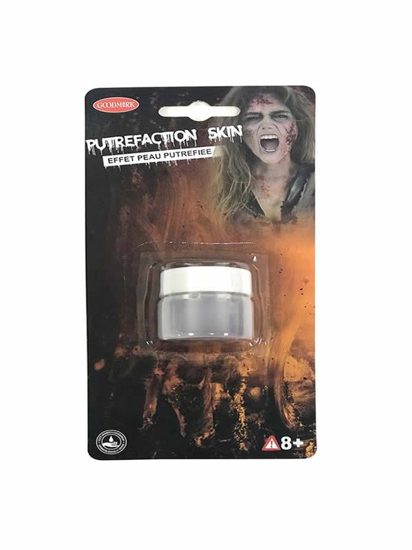 piel artificial para zombie