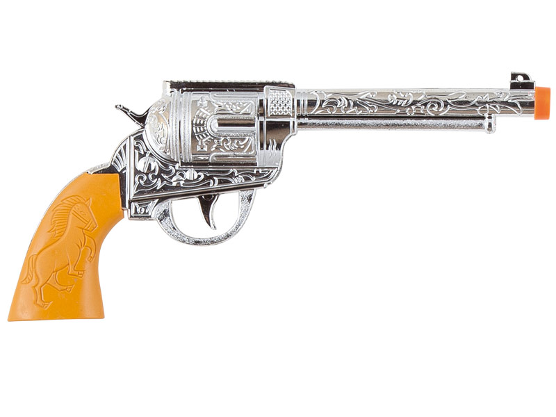 pistola revolver de vaquero 29 x 13 cm