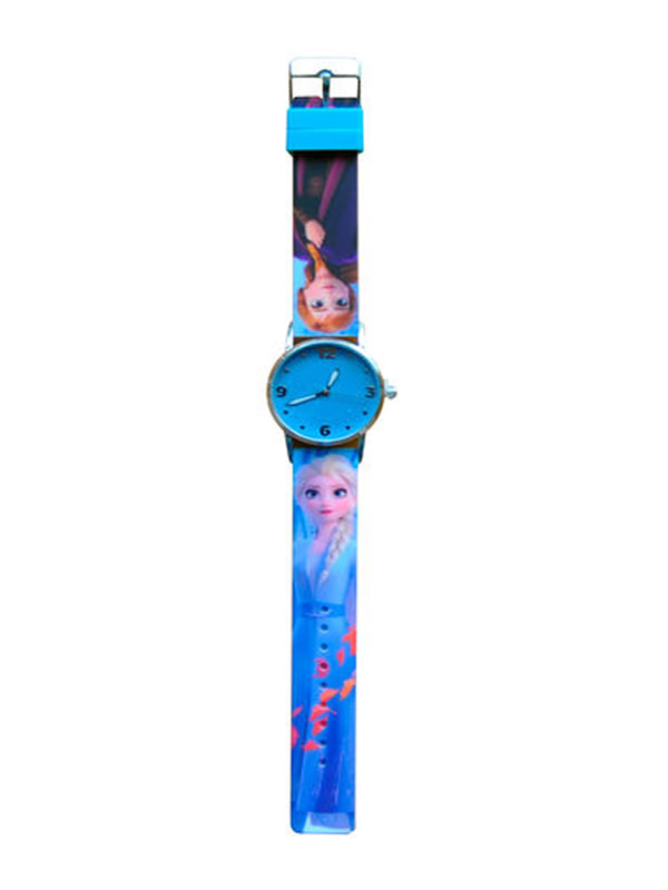 reloj analogico glitter fronzen 2 disney