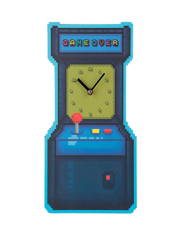 reloj de pared juego arcade game over