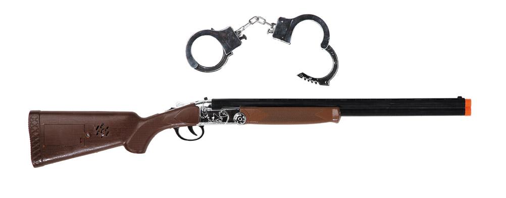 rifle con esposas de sheriff 71 cm
