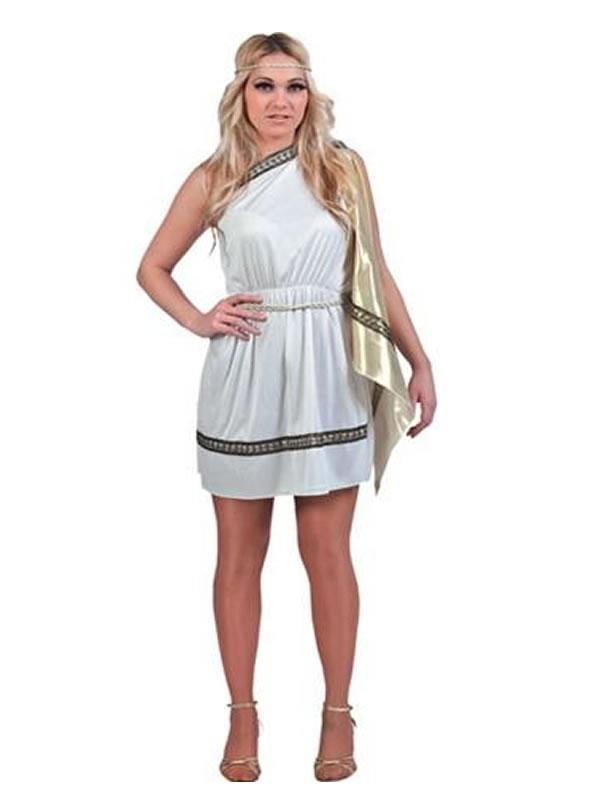 disfraz de romana barato mujer