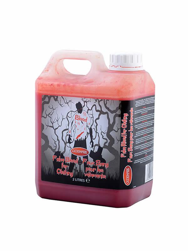 sangre falsa para textil 2 litros