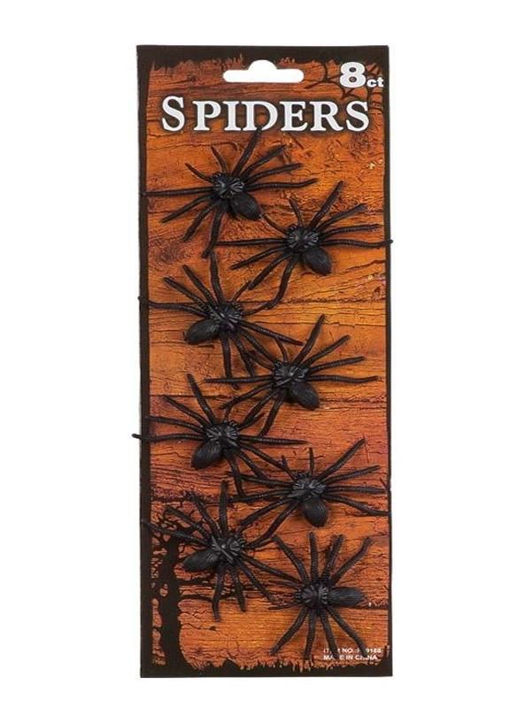 set arañas para halloween