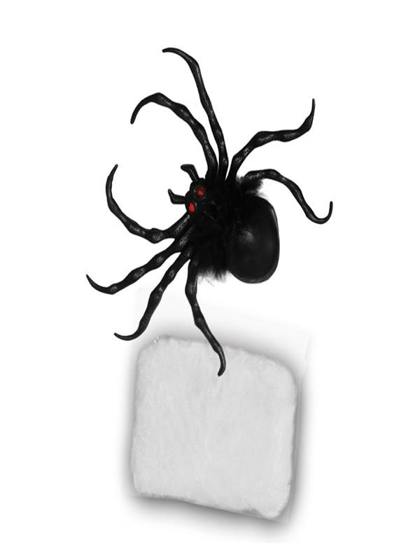 set de araña con telaraña