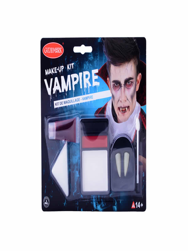 set de maquillaje vampiro halloween