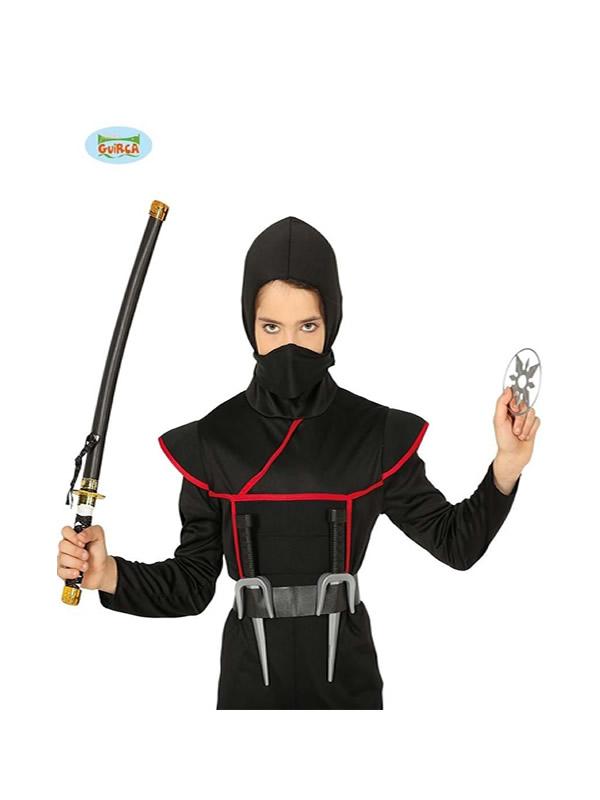 set de ninja con sable japones