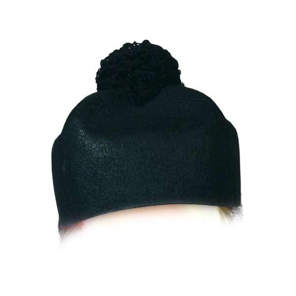 sombrero de cura negro