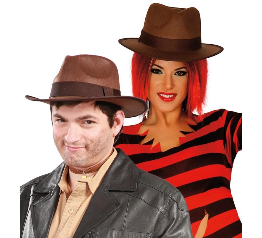 sombrero de indiana jones adultos