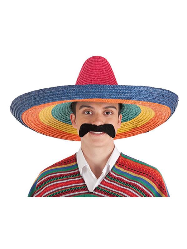 sombrero de mexicano grande para adultos