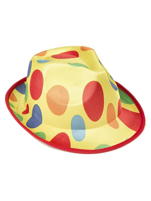 sombrero de payaso a lunares