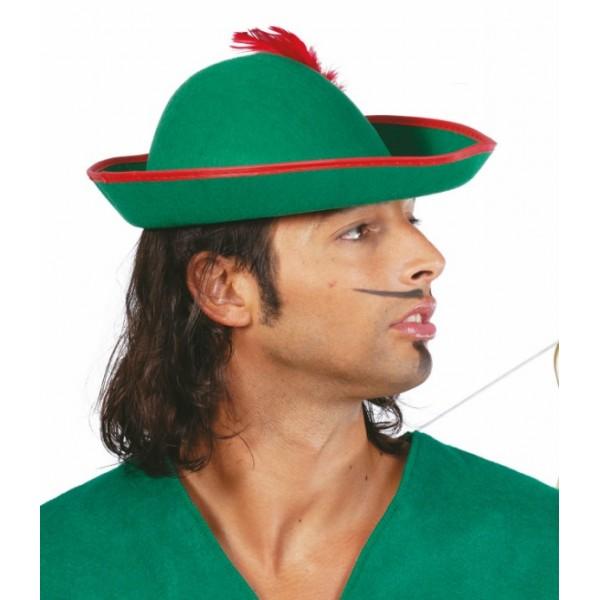 sombrero de tiroles fieltro adulto