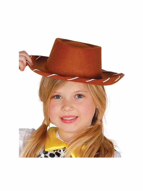 sombrero de vaquero fieltro infantil