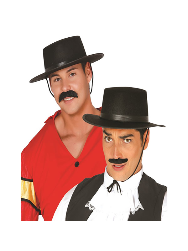 sombrero fieltro cordobes negro