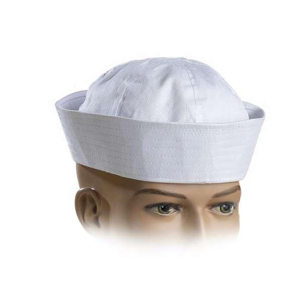 sombrero o gorro marinero blanco
