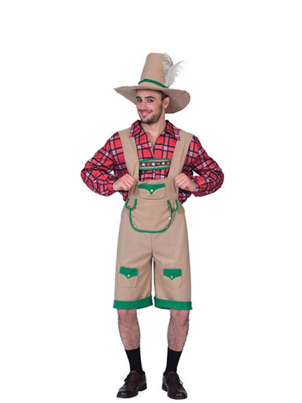 disfraz de tiroles oktoberfest adulto