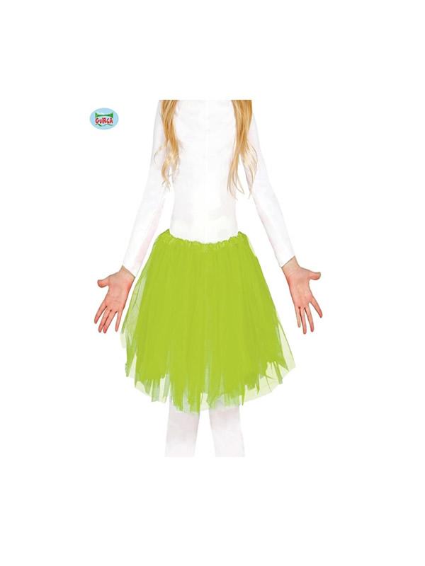 tutu 30 cms verde claro