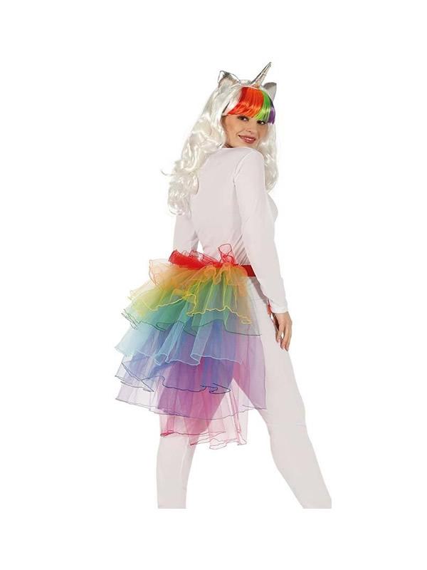 tutu largo multicolor