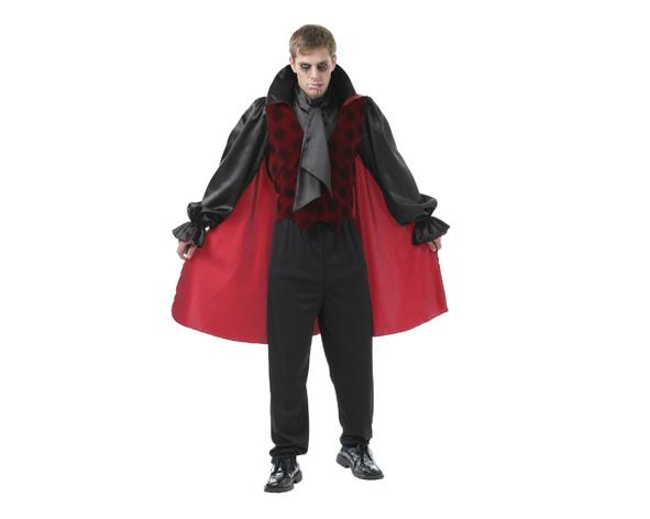Disfraz De Vampiro Gotico Para Hombre