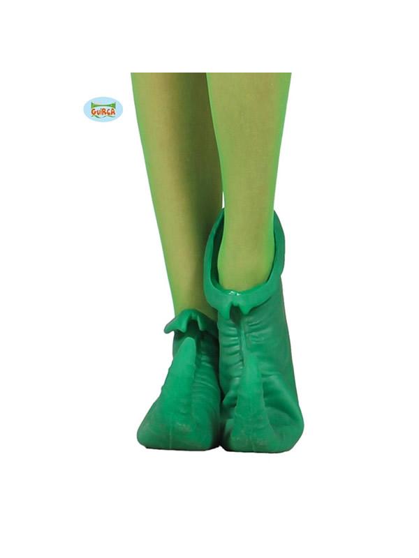 zapatos o babuchas de elfo latex