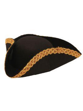 sombrero de pirata fieltro deluxe