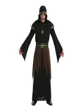 disfraz de sacerdote tenebroso hombre adulto