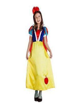 disfraz de princesa blancanieves niña