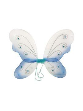 alas mariposa azul 45x38 cm