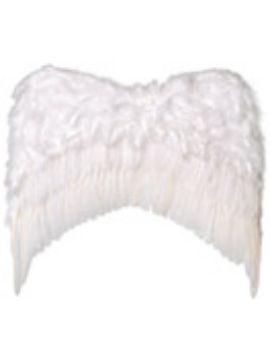 alas con plumas angel blancas pequeñas 30x39 cm