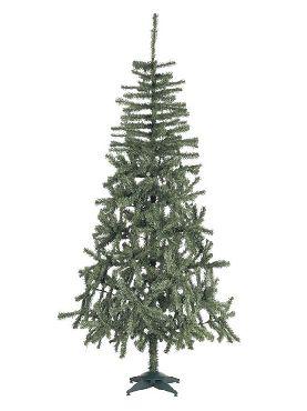 arbol de navidad douglas de 332 ramas de 150 cm con pie plastico