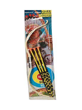 arco de indio con flecha 75 cms
