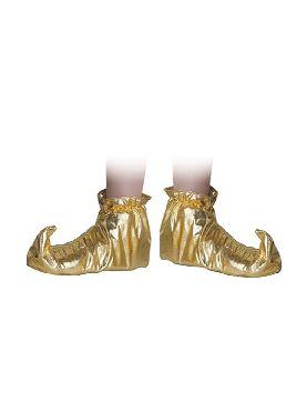 babuchas doradas para niño