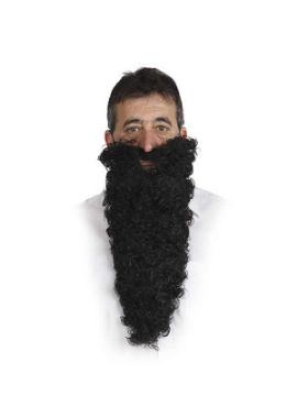 barba negra larga bin laden adulto
