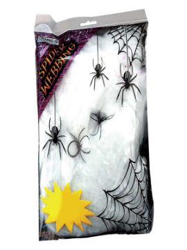 bolsa de telarañas 228 gramos halloween