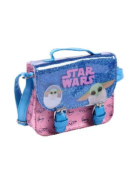 bolso bandolera star wars the child mandalorian
