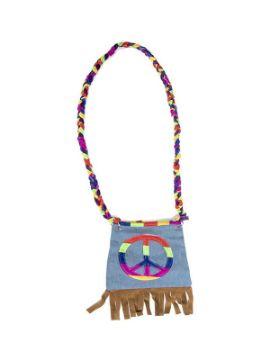 bolso hippie multicolor 80x19 cm
