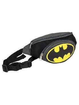 bolso riñonera batman gris