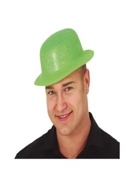 bombin de purpurina verde