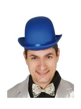 bombin deluxe satinado azul