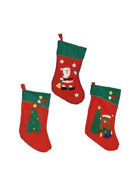 bota de navidad 42 cms surtidas