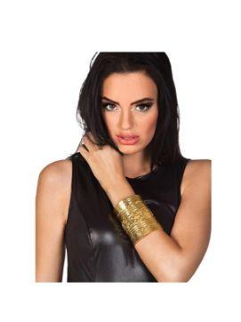 brazalete de faraona dorado
