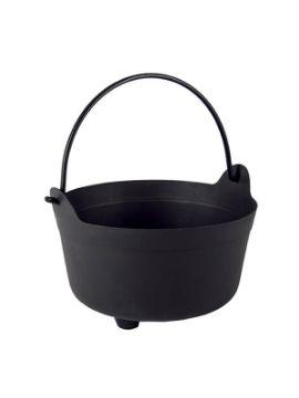 caldero negro 24 cm para halloween
