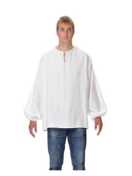 camisa medieval de mesonero adulto