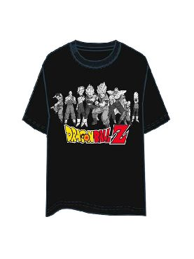 camiseta de dragon ball z personajes adulto