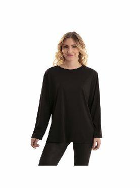 camiseta negra adulto