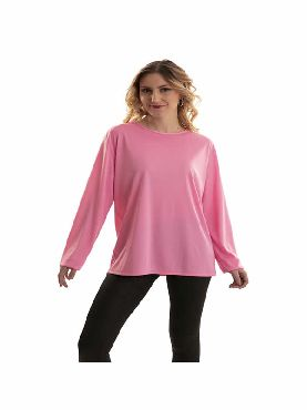 camiseta rosa adulto