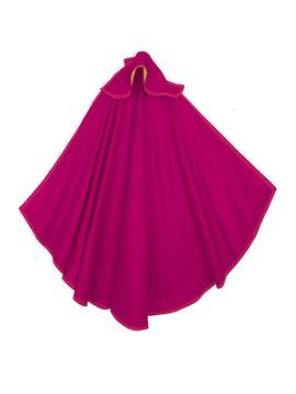 capote de torero rosa para niño de 100x65 cm